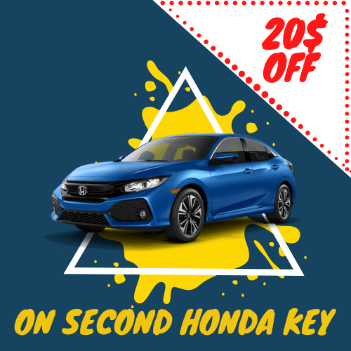 Honda Key Replacement Montreal