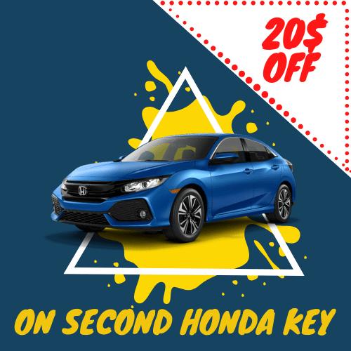 Honda Key Replacement Montreal